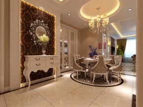 欧式 三居 白领 新古典 高上大 华悦城 奢华 玄关图片来自灿赫赫在135平打造奢华高上大的分享