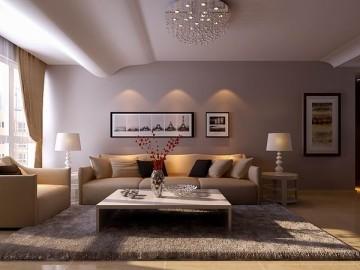 国瑞城现代风格三室二厅