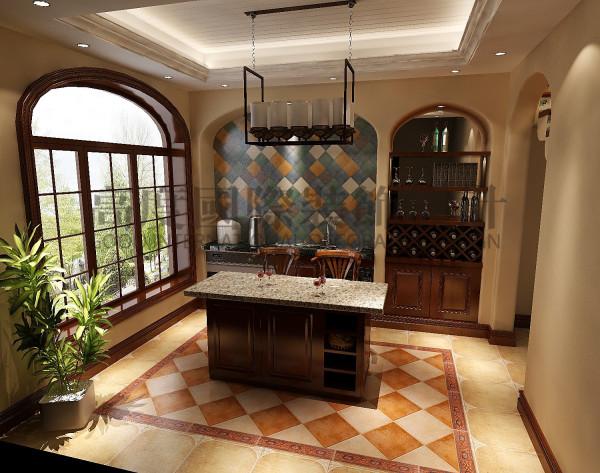 泰悦湾餐厅效果细节图 成都高度国际装饰设计