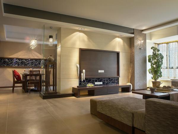 本案为星河荣御高层标准层户型2室2厅1卫,设计风格定义为现代风格。