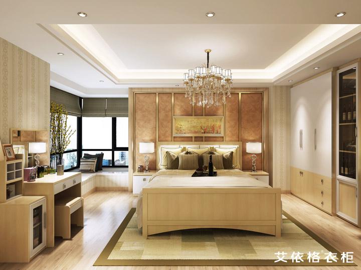 混搭 客厅 卧室 别墅图片来自aiegle在艾依格衣柜-圣比利系列的分享