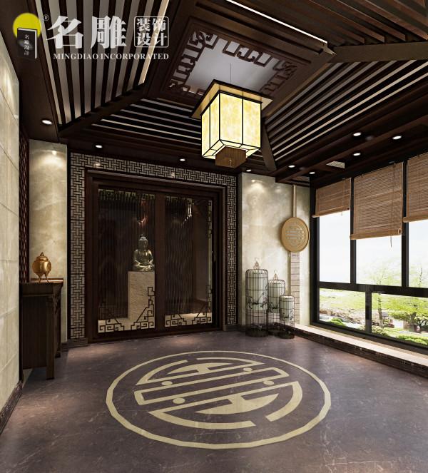 (入户花园)将传统与摩登、物质与文化、怀旧与经典彰显出一丝神秘的东方神韵。
