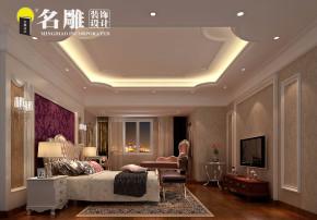 欧式 四居室 欧式风格 高富帅 80后 时尚风 主卧室 卧室图片来自名雕装饰长沙分公司在保利国际广场欧式豪宅的分享