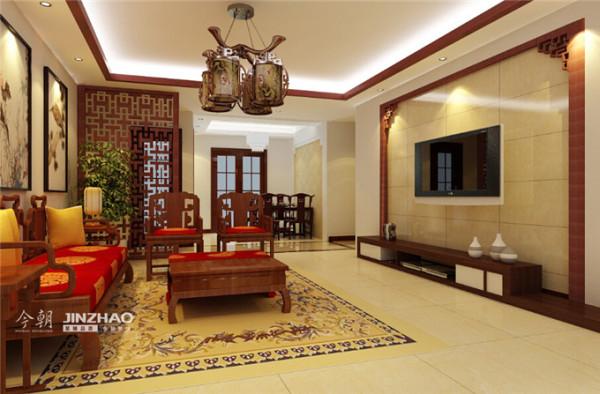 新中式的家装风格摒弃了简约的呆板和单调,也没有古典风格中的繁锁和严肃,让人感觉庄重和恬静,适度的装饰也使家居空间不乏活泼气息,使人在空间中得到精神和身体上的放松,并且紧跟着时尚的步伐。