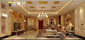 欧式 四居室 欧式风格 高富帅 80后 时尚风 客厅 客厅图片来自名雕装饰长沙分公司在保利国际广场欧式豪宅的分享