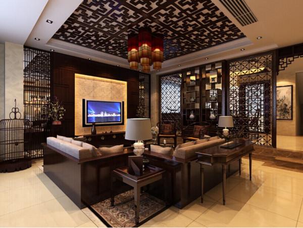 而如今的中式风格的室内设计不单单是对明清家居装饰的复制,更多的是结合现代的装修理念来表达出中式风格中对清雅含蓄,端庄风华的东方精神文化的追求。