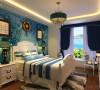 本案的设计风格为地中海风格。整个空间浅蓝色调的设计风格为主调,丰富的的色彩是地中海风格的基本特点。