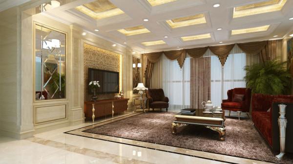结合后期欧式家具的衬托空间自然的流露无疑。别墅的设计一定要注重结构的合理运用。