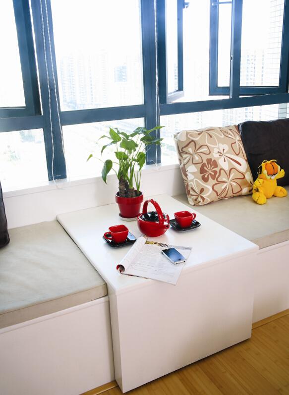 简约 三居 温馨 舒适 文艺青年 收纳 旧房改造 阳台图片来自北京老房装修-今朝装饰王丽在彩色世界的分享