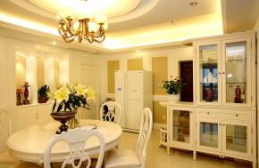 简约 四居 白领 小清新 文艺青年 温馨 舒适 餐厅图片来自北京老房装修-今朝装饰王丽在华丽不奢侈 清新不单调。的分享