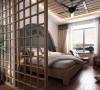 卧室设计理念:清淡而舒适的空间 亮点:整个卧室设计的很简单,不复杂,为业主在忙碌的生活中提供了休憩的优雅空间。
