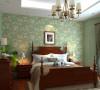 金域中央126平美式三居室