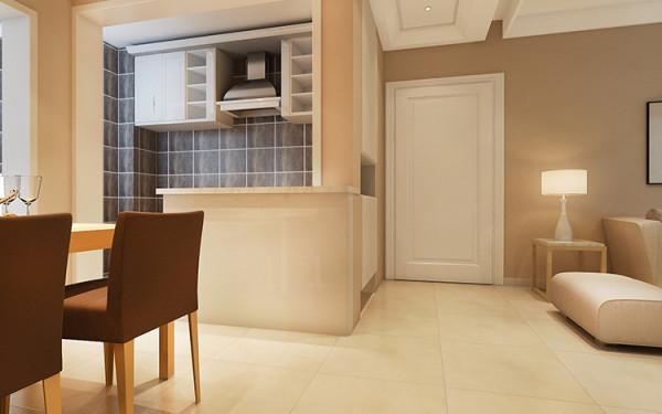 锦艺国际华都两室两厅90平方装修效果图