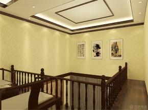 中式 别墅 收纳 80后 小资 楼梯图片来自阳光放扉er在珑著-219平米-中式风格的分享