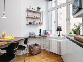 旧房改造 瑞典公寓 80后 白领 一居 北欧 阳台图片来自今朝装饰老房装修通王在43平米瑞典公寓空间小也有大情调的分享