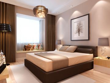 现代、简约、奢华的室内空间