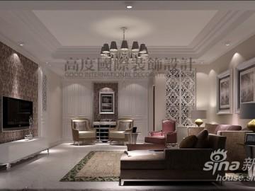 7克拉两居室装饰效果图