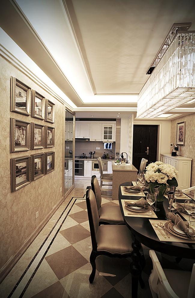 新古典 四居 家庭装修 阿拉奇设计 餐厅图片来自阿拉奇设计在奢华新古典家庭装修的分享