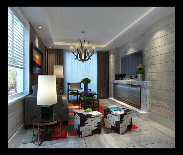 设计采用简约现代的风格是思想追求和精神情趣的直接反映,它与个人的文化背景 和家庭修养的基础上,设计有自己特色的居室风格。在确立风格之后,又考虑到布局以实现特定需要的风格情调。