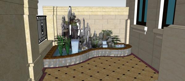 """设计师:刘文洪  """"人""""是景观的使用者。因此首先考虑使用者的的要求、做好总体布局,要有利于全厂工作环境,减少建设中的种种矛盾,提高环境质量等方面的功能要求。"""