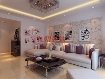 家装案例:晶城秀府101平米简约