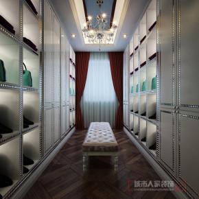 简约 现代 三居 白领 小资 衣帽间图片来自西安城市人家装饰王凯在单身贵族女性的简约清新空间的分享