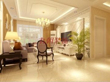 家装案例:华清学府城132欧式