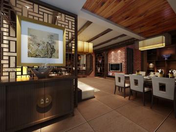 中式风格-三居室