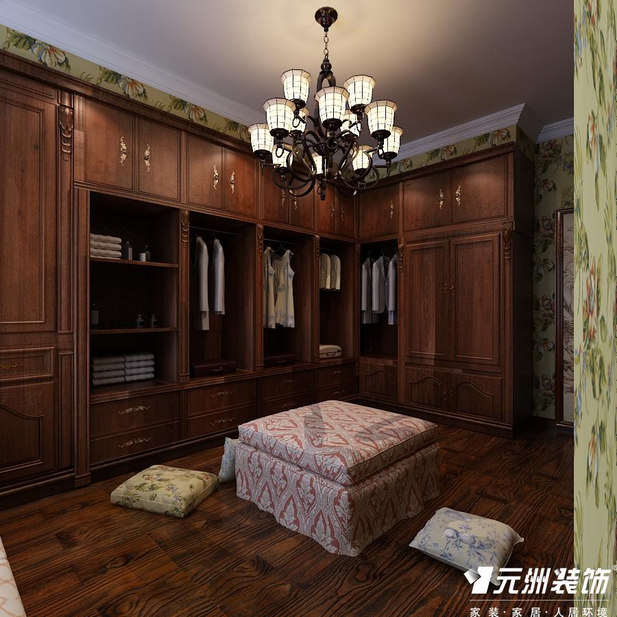 欧式 古典欧式效 别墅设计 元洲别墅设 衣帽间图片来自石家庄-小程在亿城上山间古典欧式别墅设计图纸的分享