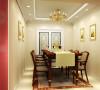 简单的线条,让餐厅环境显得整洁大方亮点:中西结合的餐桌椅,加上金色相框把整个空间衬托高贵与典雅。