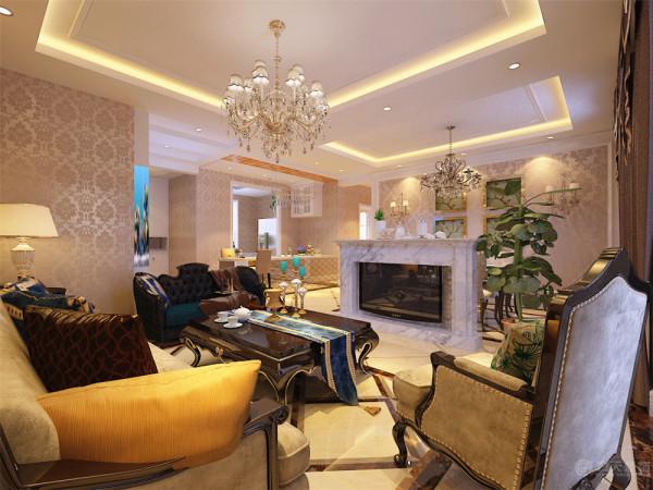 本套案例是鹭岭-四室两厅一厨两卫-136平米-欧式风格的案例。