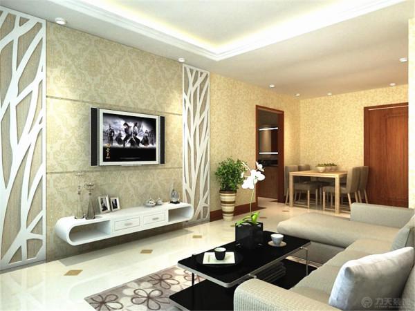 该户户型为保利玫瑰湾的一室两厅一厨一卫的中单户型,风格为现代简约。