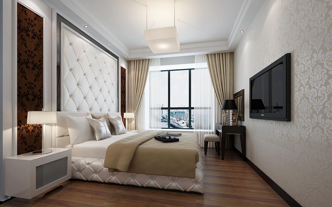 欧式 五居 旧房改造 实创装饰 卧室图片来自传承正能量在汇景新城180平米简欧的分享