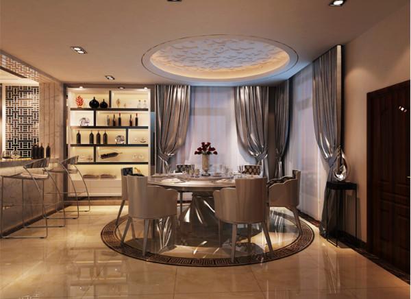 空间的划分不再局限于硬质墙体,而是更注重会客、餐饮、学习、睡眠等功能空间的逻辑关系。通过家具、吊顶、地面材料、陈列品甚至光线的变化来表达不同功能空间的划分