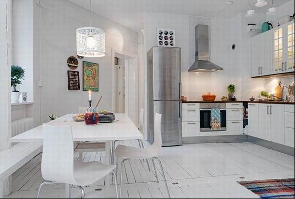 简约 三居 80后 小资 白领 餐厅图片来自刘成成在白色元素融入装修风格效果的分享