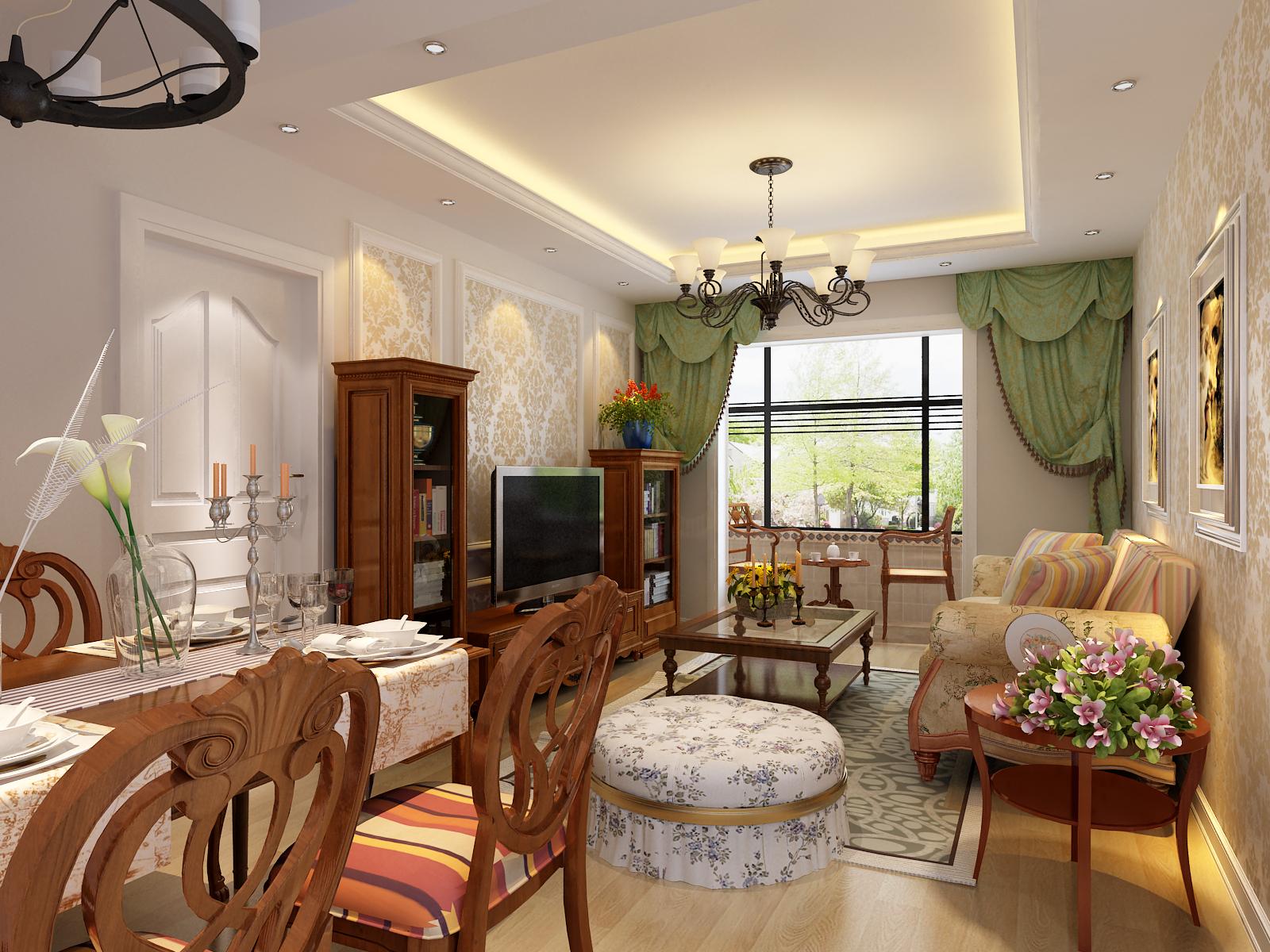 家居装饰 性价比高 实景材料展 新房装修 客厅图片来自天津实创装饰集团l在奕聪花园98平现代简欧精美案例的分享