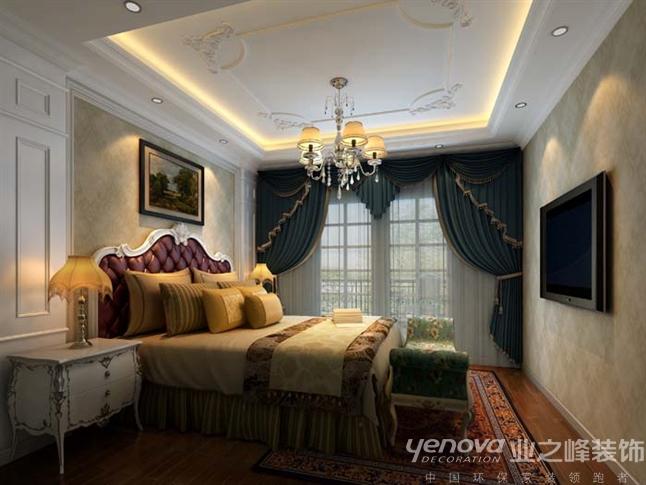 欧式 简约 混搭 三居 卧室图片来自成都业之峰装修小管家在成都艺锦湾170顶跃案例的分享