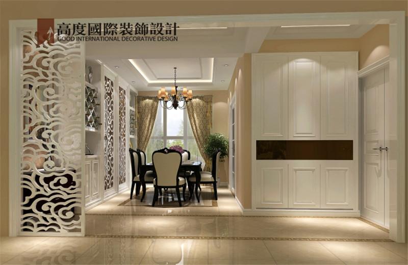 简约 欧式 装饰 案例 效果图 餐厅图片来自高度老杨在鲁能七号院三室140㎡简欧公寓的分享