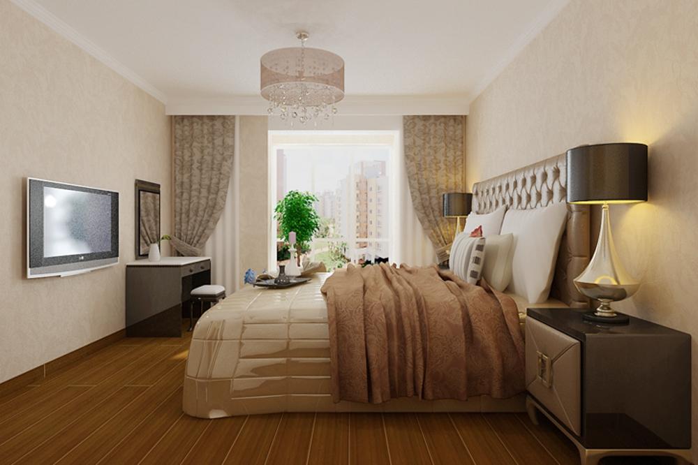 混搭 三居 80后 收纳 卧室图片来自石家庄业之峰装饰在国赫红珊湾129平米混搭风格装修的分享