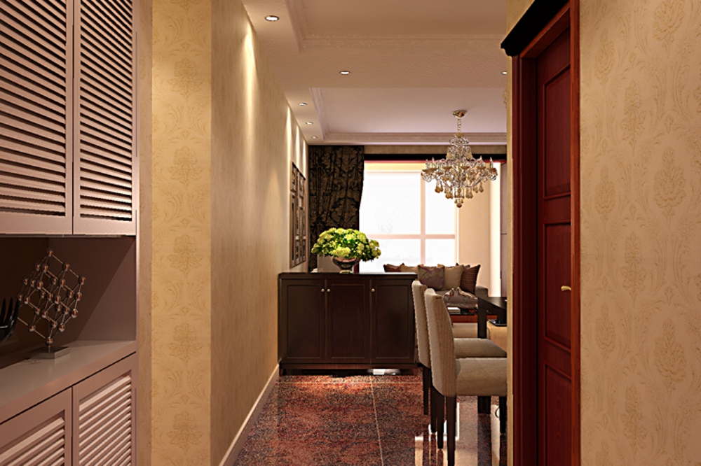 混搭 三居 80后 收纳 客厅图片来自石家庄业之峰装饰在国赫红珊湾129平米混搭风格装修的分享