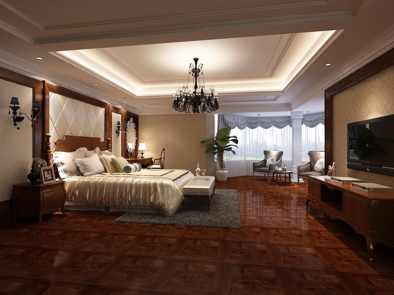别墅 豪华 自建房 欧式 卧室图片来自昆明九创装饰温舒德在超级豪华大别墅,有钱就是任性的分享