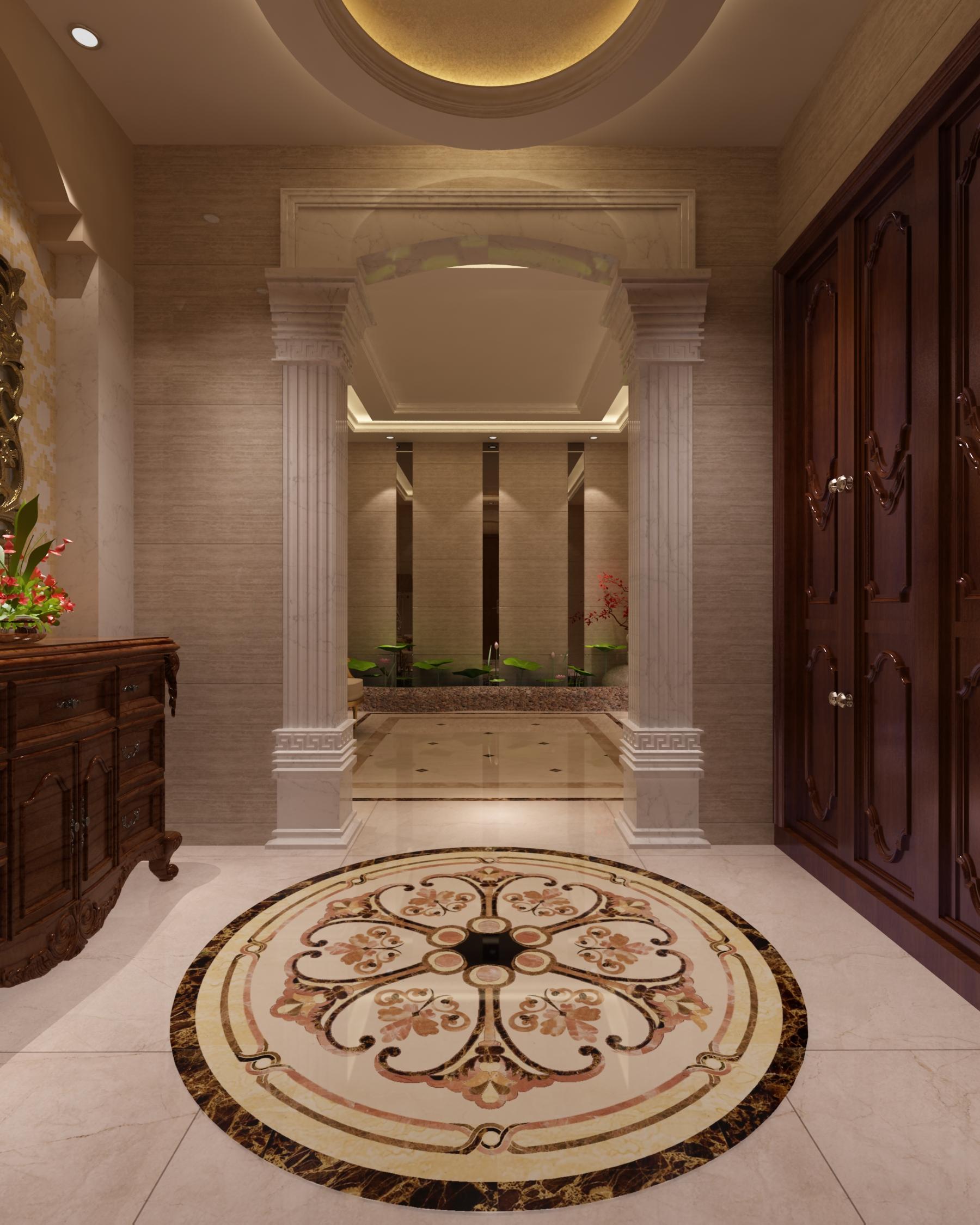 别墅 豪华 自建房 欧式 其他图片来自昆明九创装饰温舒德在超级豪华大别墅,有钱就是任性的分享