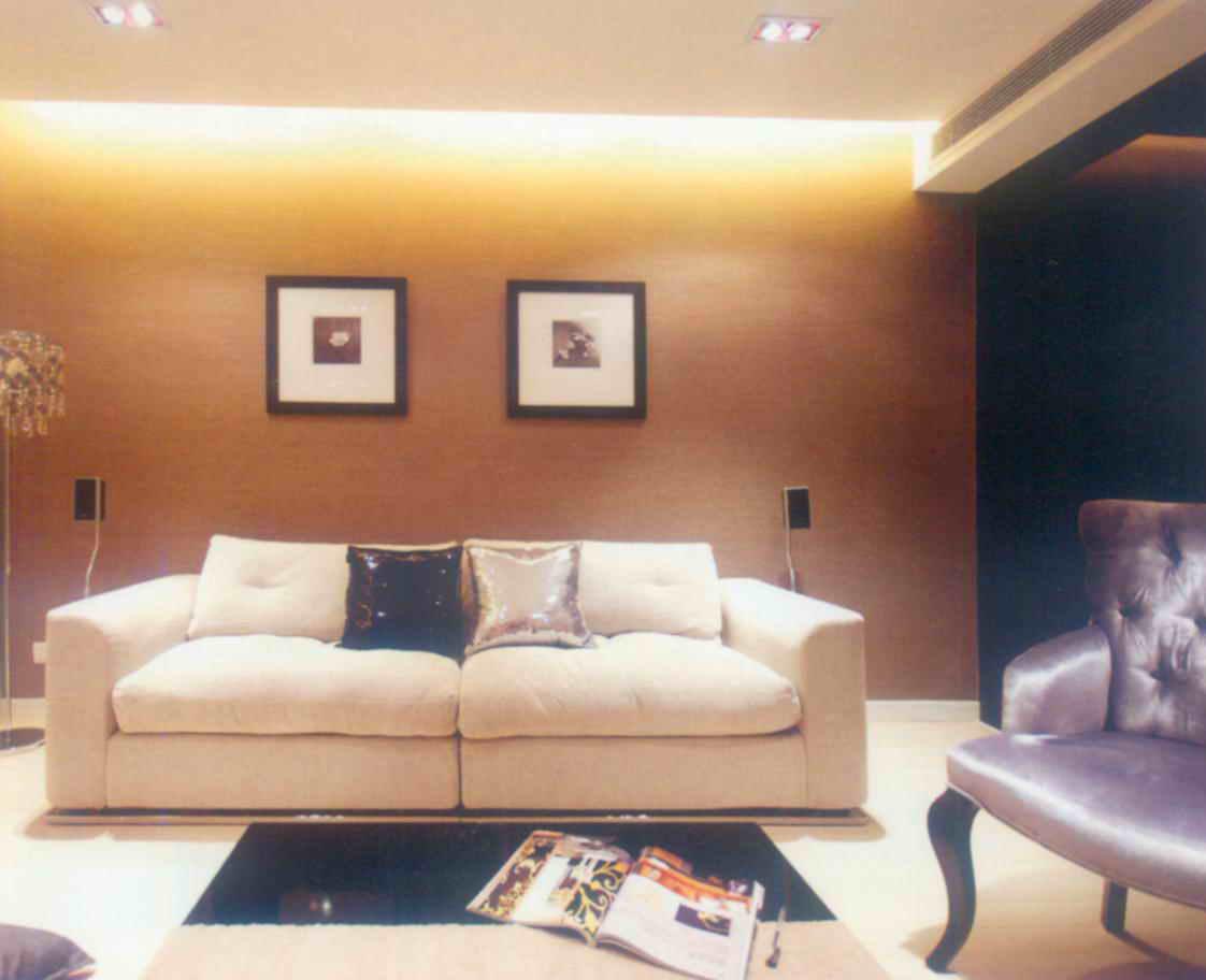 简约 三居 白领 旧房改造 80后 小资 客厅图片来自天津尚层装修韩政在世茂生态城20万打造现代简约的分享