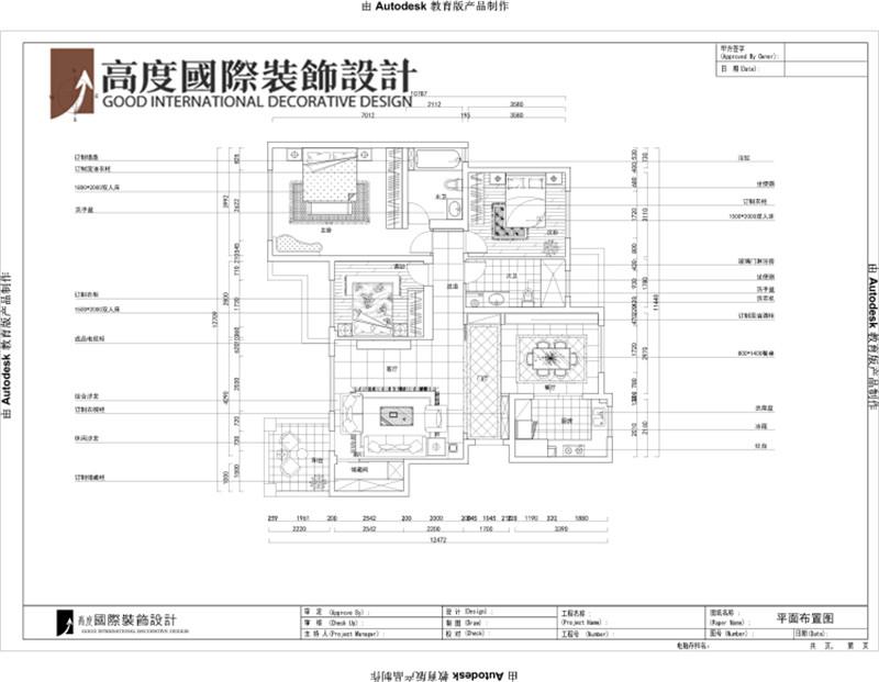 简约 欧式 装饰 案例 效果图 户型图图片来自高度老杨在鲁能七号院三室140㎡简欧公寓的分享
