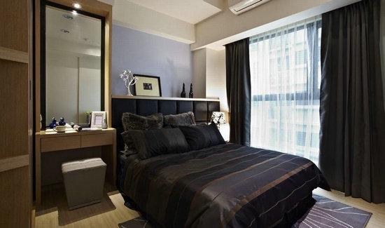 日升装饰 西安日升装 卧室图片来自装修设计芳芳在127平现代风格三居室功能美家的分享