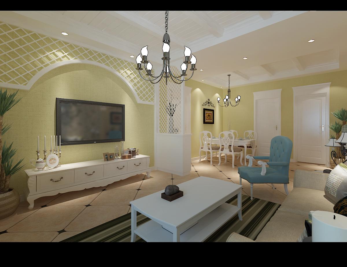 田园 三居 白领 80后 小资 客厅图片来自桐城装饰--城城在城市阳光 田园风格的分享