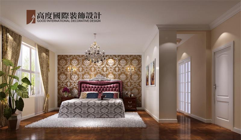 简约 欧式 装饰 案例 效果图 卧室图片来自高度老杨在鲁能七号院三室140㎡简欧公寓的分享