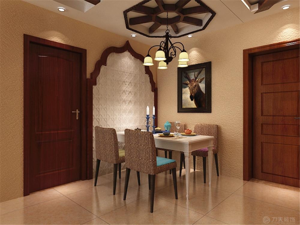 东南亚 二居 收纳 白领 80后 小资 餐厅图片来自阳光力天装饰在宝龙城-80.00㎡-东南亚风格的分享