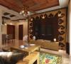 此户型为天津宝龙城高层标准层H户型2室1厅1卫1厨,建筑面积80.00㎡。设计风格为东南亚风格。