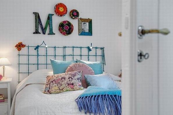 床的背景墙